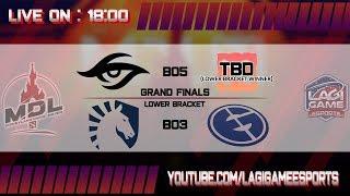 [DOTA 2] Team Secret VS Team Liquid - Grand Final MDL Disneyland Paris Major