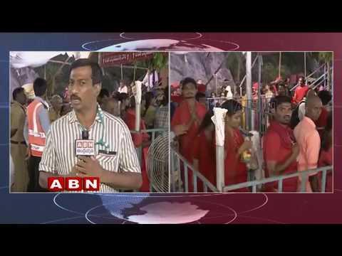 Navratri celebrations at Kanaka Durga Temple   Vijayawada   ABN Telugu