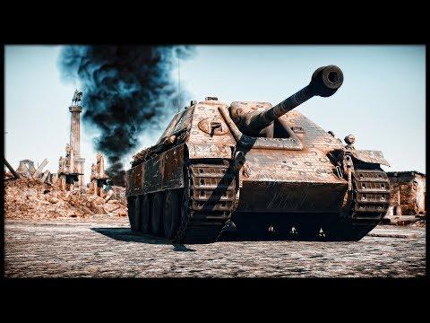 Hunting Panther    Jagdpanther & Ta 152 C3 (War Thunder Tanks Gameplay)