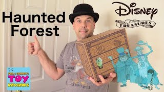 Funko Disney Treasures Surprise Box Haunted Forest Opening Toy Review | PSToyReviews