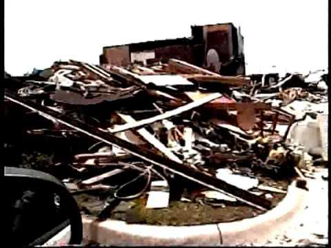 F5 Oklahoma City tornado damage of May 3, 1999