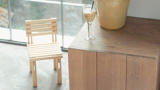 [LiK Vietnam] Hướng dẫn tự thực hiện ghế tựa mini với thanh gỗ sáng tạo LiK
