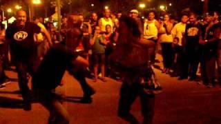 Yentil Bailando en Jamminh session La Guancha