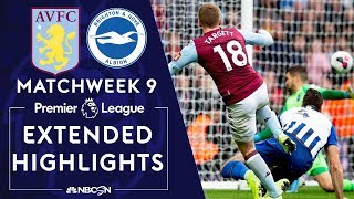 Aston Villa v. Brighton | PREMIER LEAGUE HIGHLIGHTS | 10/19/19 | NBC Sports