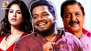 Letter to Sivakumar & Sunny Leone 😂😂 | RJ Vignesh Funny Interview | Karthi's Dev Movie