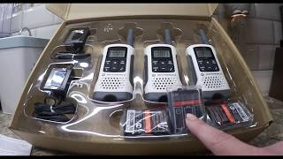 Motorola Talkabout 2 Way Radios-Unboxing and Review