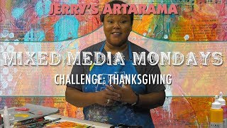 Mixed Media Monday - Thanksgiving Special