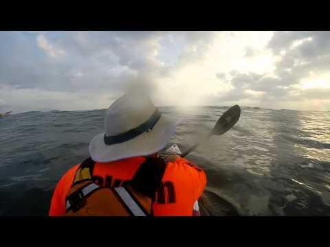 Surfing the Jackson Kayak Kraken