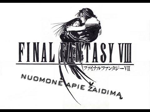 Final Fantasy VIII - Nuomonė apie žaidimą