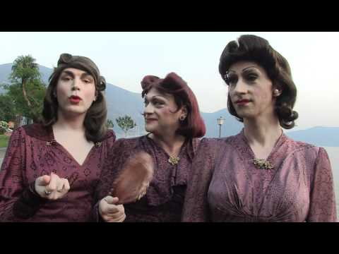 Le Sorelle Marinetti - interview on the lake @JazzAscona 2012
