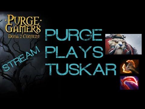 Dota 2 Purge plays Tuskar