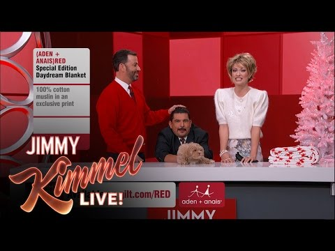 The Jimmy Kimmel Live (RED) SHOPATHON with Olivia Wilde