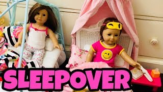 American Girl Doll Sleepover