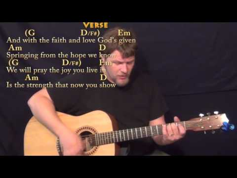Friends Are Friends Forever Michael W Smith Strum Guitar Cover Lesson with Chords