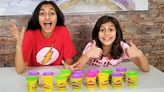 DON'T CHOOSE THE WRONG PLAY-DOH SLIME CHALLENGE!