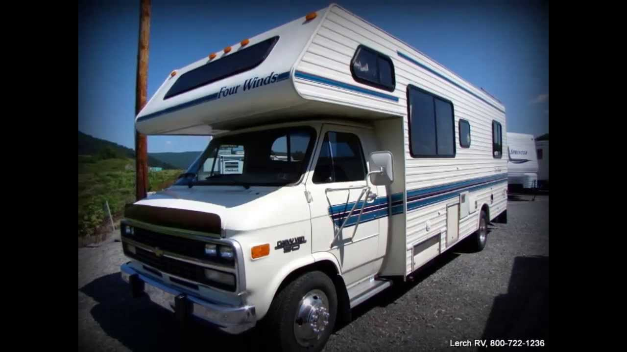 Used 1992 Four Winds M25b Class C Motor Home Rv For Sale