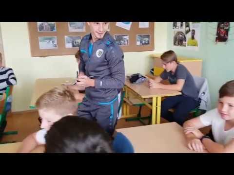 Adam Vlkanova přivítal žáky ZŠ Sever na začátku školního roku