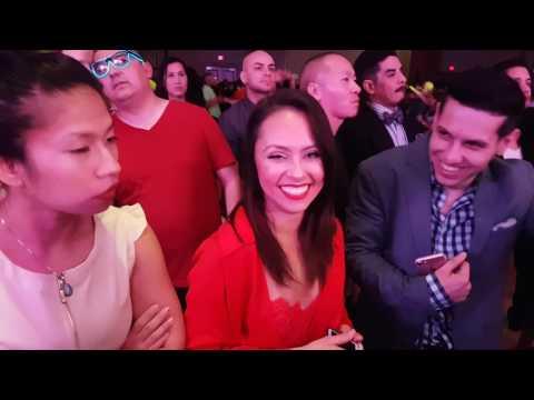 HSC 2017 - Karla Blanco et Wander Rosario with Bobby Valentin