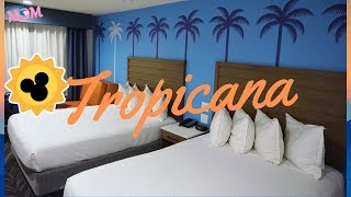 Tropicana Inn & Suites Room Tour Anaheim, California a Disneyland Good Neighbor Hotel