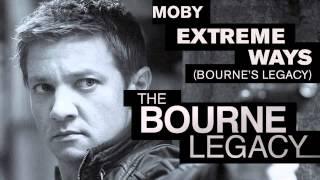 Bourneacy theme music: Extreme Ways (Bourne'sacy) by Moby