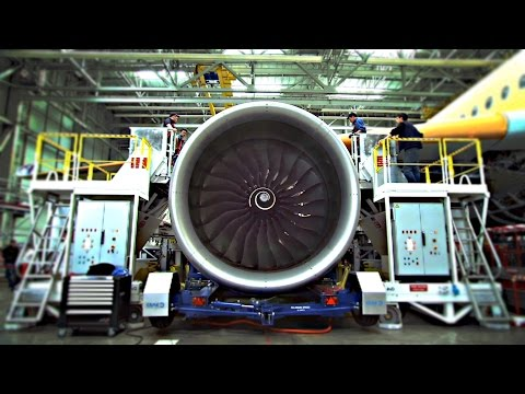 How An Airplane Is Made video