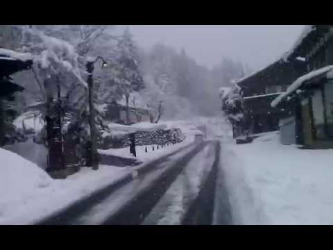 on the way to(白川郷 )SHIRAKAWAGO Gifu Prifecture Japan