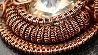 Делаем спиральки из проволоки для украшений