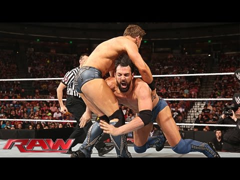 Damien Mizdow Vs. The Miz: Raw, April 6, 2015 video