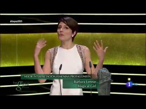 BÁRBARA LENNIE se lleva el Goya a la Mejor Actriz por Magical Girl
