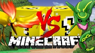 Minecraft: Pokémon LUCKY BLOCK CHALLENGE 2 | Legendary Pokemon!!