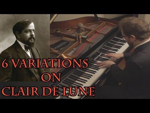 Debussy - 6 Variations on Clair de Lune Vídeos de zueiras e brincadeiras: zuera, video clips, brincadeiras, pegadinhas, lançamentos, vídeos, sustos