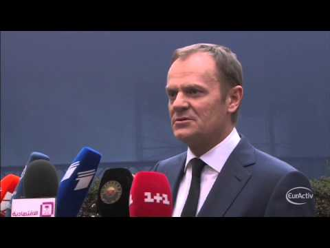 "Tusk on Ukraine's ceasefire agreement: ""We have to be cautious"""