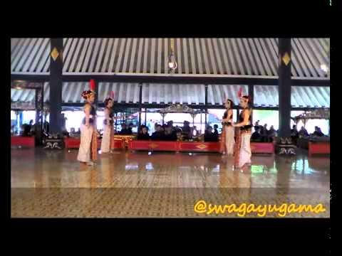 Tari Serimpi   Tari Tradisional Di Yogyakarta video