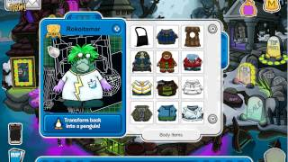 Club penguin - Halloween Party 2013