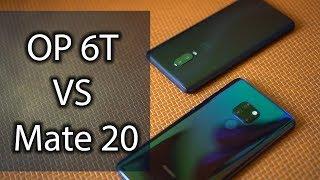 OnePlus 6T vs Huawei Mate 20 - Pocketnow en Español