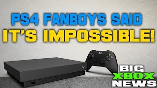 Microsoft Just Made A Tremendous Xbox One X Announcement! PS4 Fanboys Said This Was IMPOSSIBLE!