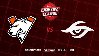 Virtus.pro vs Team Secret, DreamLeague Season 11 Major, bo3, game 1 [Casper & GodHunt]