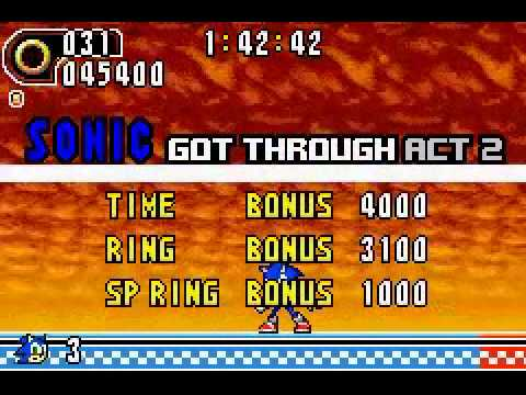 Sonic Advance 2 - Sonic Advance 2 (GBA) - Vizzed.com Play - User video