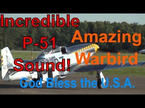Video of a P-51 Mustang (Bald Eagle) departing Fauquier County, VA. Used with permission.