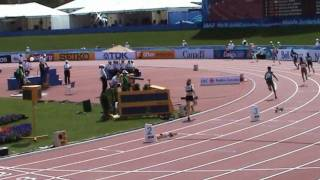 IAAF World Junior Championships Moncton 2010 - 400m women heat 2 - Lauf 2