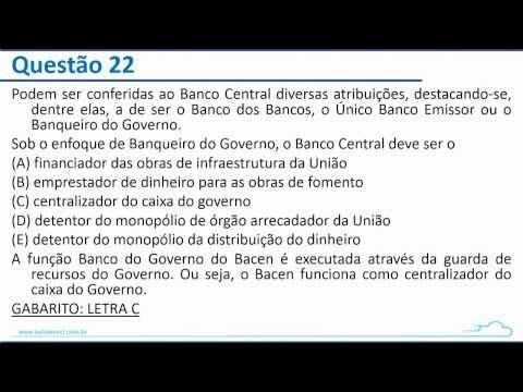 Correção -  Banco do Brasil 2014 - CESGRANRIO - Atualidades do Mercado Financeiro - Otoniel Linhares
