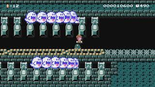 The terrifying Ghost House ! by Pierre - Super Mario Maker - No Commentary