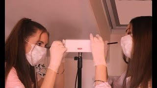SUPER Tingly Twin Ear Cleaning ASMR Video
