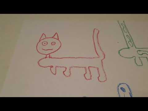 A kutya, a macska és a zsiráf 12. (múzeum)