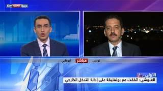 الرئيس الجزائري يستقبل رئيس حركة النهضة التونسية راشد الغنوشي