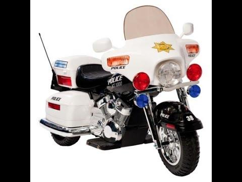 Police motos jouets pour les enfants dessin anim youtube - Jeux de motos de police ...