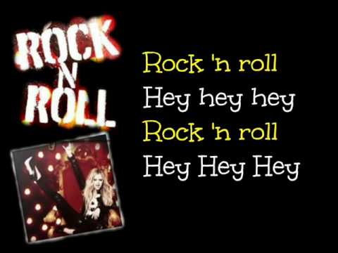 Rock N Roll - Avril Lavigne - Lyrics On Screen video