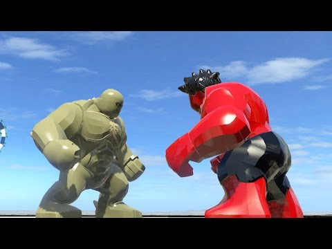 ABOMINATION VS RED HULK (BATTLE) - LEGO Marvel Super ...