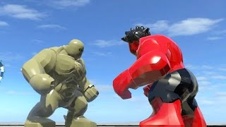 ABOMINATION VS RED HULK (BATTLE) - LEGO Marvel Super heroes