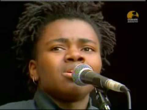 Thumbnail of video talking about a revolution (tracy chapman)